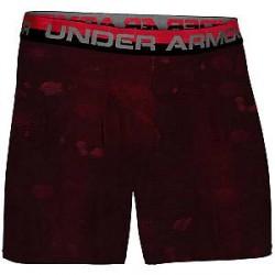 Under Armour (UA) 1-Pak Røde/Sorte Under Armour HeatGear Boxerjock Underbukser 1254695 601