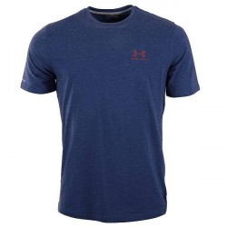Under Armour (UA) Under Armour Blå Charged Cotton Sportstyle T-Shirt 1257616 420