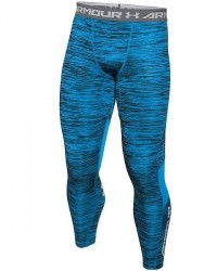 Under Armour (UA) Under Armour Blå CoolSwitch Kryo Lange Kompressions-Tights 1271331 428