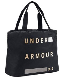 Under Armour (UA) Under Armour Sort Taske med Metallisk Logo 1308932 001