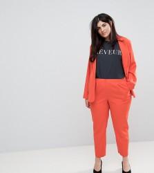 Unique 21 Hero Plus Cigarette Trouser Co-Ord - Orange