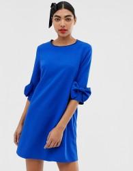 Unique21 bow detail dress - Blue