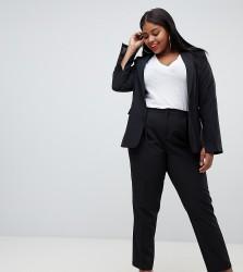 UNIQUE21 Hero Plus skinny cigarette trousers co-ord - Black