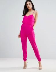 Unique21 Strappy Back Jumpsuit - Pink