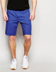 United Colors of Benetton 100% Cotton Shorts - Blue