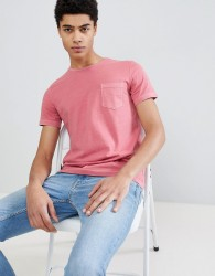 United Colors of Benetton Crew Neck T-Shirt In Pink - Pink