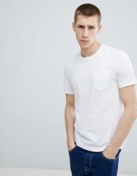 United Colors Of Benetton Pocket T-Shirt In White - White
