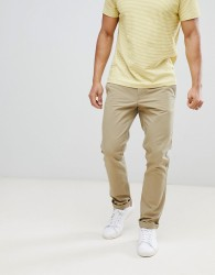 United Colors of Benetton Slim Fit Chinos in Beige - Beige