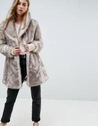 Unreal Fur Elixir Coat - Beige