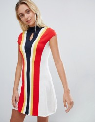 Urban Bliss 60s Fit & Flare Dress - Multi