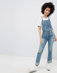 Urban Bliss Olivia Dungarees - Blue