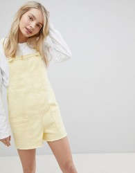 Urban Bliss Strappy Playsuit - Yellow
