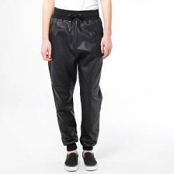 Urban Classics Bukser - Deep Crotch Leather Imi