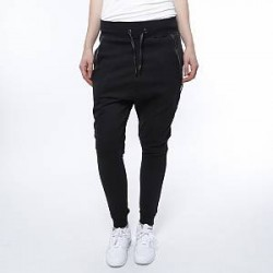 Urban Classics Bukser - Side Zip Leather Pocket