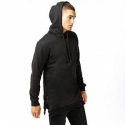 Urban Classics Hoodie - Long Side Zipped