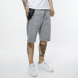 Urban Classics Shorts - Side-Zip Leather Imitation