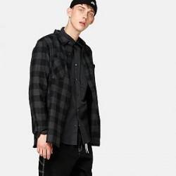 Urban Classics Skjorte - Checked Flanell
