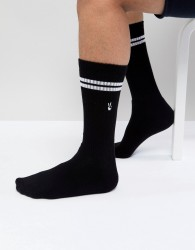 Urban Eccentric Peace Sport Socks - Black