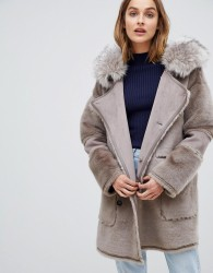 UrbanCode Azza reversible duffle coat - Brown