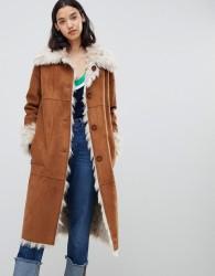 Urbancode Elle reversible easy fit coat - Multi