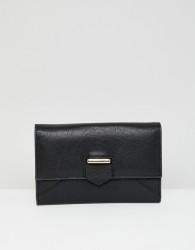 Urbancode leather fold over purse - Black