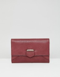 Urbancode leather foldover purse - Red