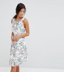 Uttam Bouitque Petite Floral Midi Dress - Multi