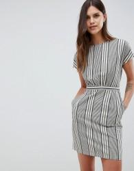 Uttam Boutique Checked Shift Dress - Black
