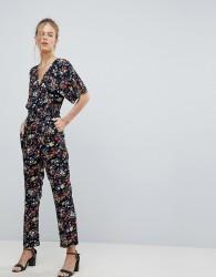 Uttam Boutique Floral Jumpsuit - Navy