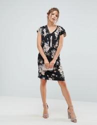 Uttam Boutique Floral Shift Dress - Black