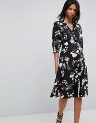 Uttam Boutique Flower Wrap Dress - Multi