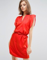 Vanessa Bruno Athe Tunic Detailed Dress - Red