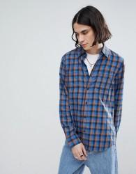 Vans Alameda II Shirt In Blue - Blue