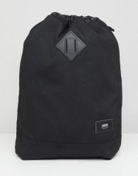Vans drawstring bag in black VN0A3HM6BLK1 - Black