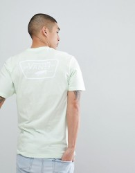 Vans Full Patch T-Shirt With Back Print In Green VA3H5KPE6 - Green