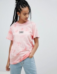 Vans Pink Tie Dye T-Shirt - Orange