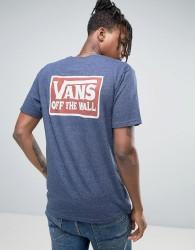 Vans Shaping Triblend T-Shirt In Blue VA312I10I - Blue