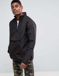 Vans Tilman MTE Pull Over Jacket In Black VA36JSBLK - Black