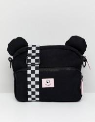 Vans X Lazy Oaf Bear Cross Body Bag - Black