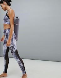 Varley Marble Print Biona Leggings - Multi