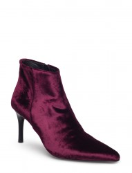 Velvet High Heel Boot
