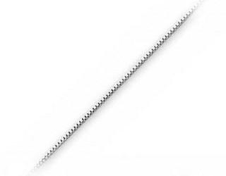 Venezia - Box halskæde - 51cm - tykkelse 1,4mm - Halskæder