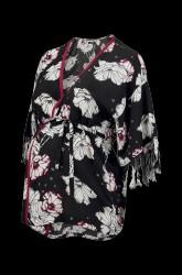Ventebluse Kimono Flower