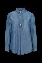 Venteskjorte i denimlyocell