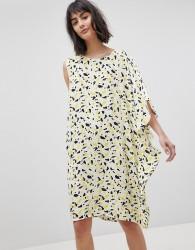 Vero Moda Asymmetric Shift Dress - Multi