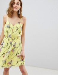 Vero Moda Bright Floral Mini Dress - Multi