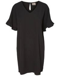 Vero Moda Brit frill 2/4 short dress (LYSERØD, M)