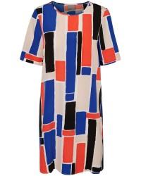 Vero Moda Isadora 2/4 short dress (RØD, L)
