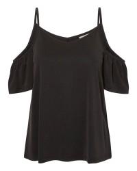 Vero Moda Metti cold shoulder top (SORT, XL)