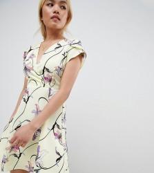Vero Moda Petite Bright Floral Tea Dress - Multi